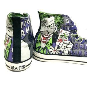 e49b776f55ba Converse Shoes - Converse X DC Comics Batman Vs Joker Haha